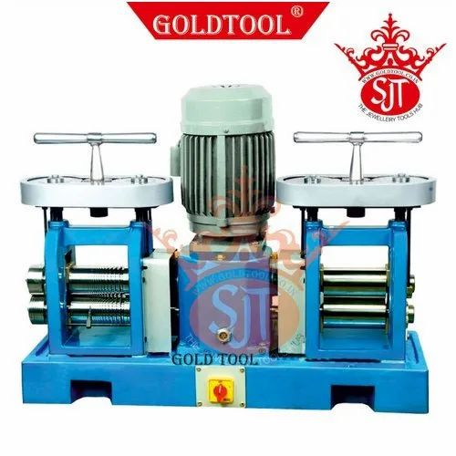 Gold Tool Rolling Mills Double Head Compact Jewellery Tools
