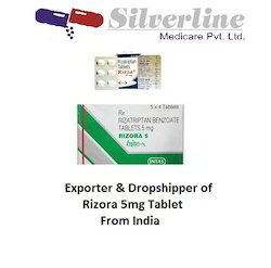 Rizora 5mg Tablet,  Packaging Size: 4