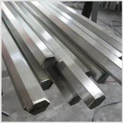 Hexagonal Stainless Steel Hex 304, Size: 100 Mm Long To 6 Mtr Long