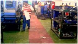 Factory Area Rubber Flooring