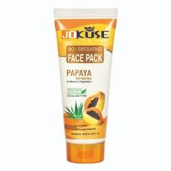 Jokuse Face Pack Papaya, Pack Size: 100 Ml , For Personal, parlour