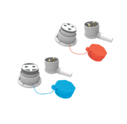 Metal Clad Plugs Sockets