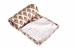 Baby Kanta Block Printed Cotton Quilt