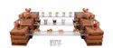Wooden Buffet Riser Small