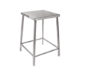 SS Square Stool