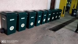Sintex Wheeled Plastic Dust Bin 90 ltr GBRW 09-01