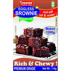 Eggless Chocolate Brownie Premix - 1 Kg