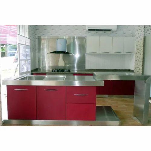 Cromatica Steel Modular Kitchen, Warranty: 10-15 Years