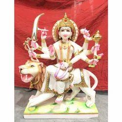 Marble God Durga Statues
