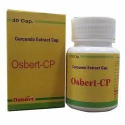 Osbert Curcumin Extract Capsules, Treatment: Cholesterol Control, Packaging Type: Box