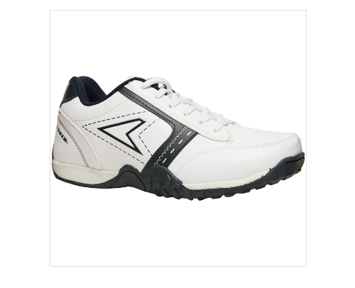 cb36a8c8eab Bata Leather Power White Sports Shoes For Men F839103900