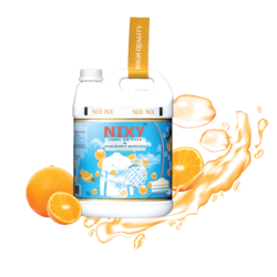 Soft Fabric Softener and Freshener 5 L Orange - Refill