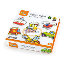 Magnetic Vehicles Activity Toys (20pcs)