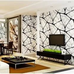 PVC Living Room Wallpapers
