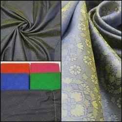 Satan Self Jacquard Fabric