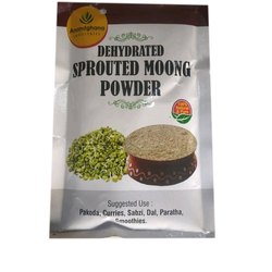 Anandghana Industries Dehydrated Sprouted Moong Powder, Packaging Type: Biodegradable Bag, 100g