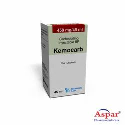Kemocarb 450 Mg (Carboplatin Injection), Packaging Type: 1 x 1 Vial