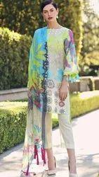 Cotton Party wear Pakistani Designer Suits