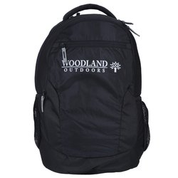 Woodland TB 130004 Black Unisex Laptop Backpack