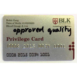 Silver Privilege Card