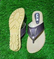PU Black Ladies Casual Slipper, Size: 5-9