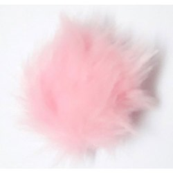 Pink Fur Pom Pom