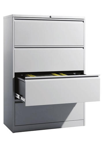eurosteel gray 4 drawer lateral filing cabinets rs 28267 number rh indiamart com 4 drawer lateral file cabinet hon 4 drawer lateral file cabinet with lock