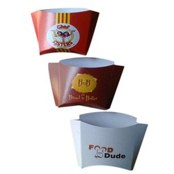 Printed French Fries Box