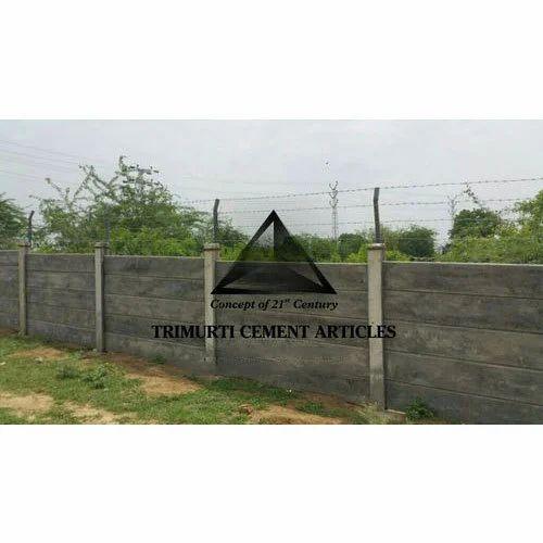 Precast RCC Compound Wall