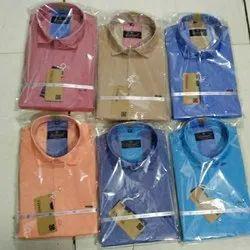 Plain Men Formal Shirts