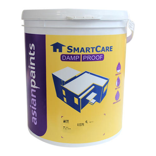 White Damp Proof Asian Paints Packaging Size 4 Litre Rs 840 4 Litre Id 14159796591