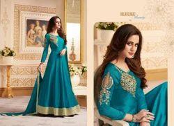 Ladies Designer Full Stitched Gown