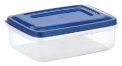 Rectangular Plastic Storage Container Crystal 7001