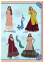 Designer Kajal Style Kurti Of Fashion Lakme Vol-4