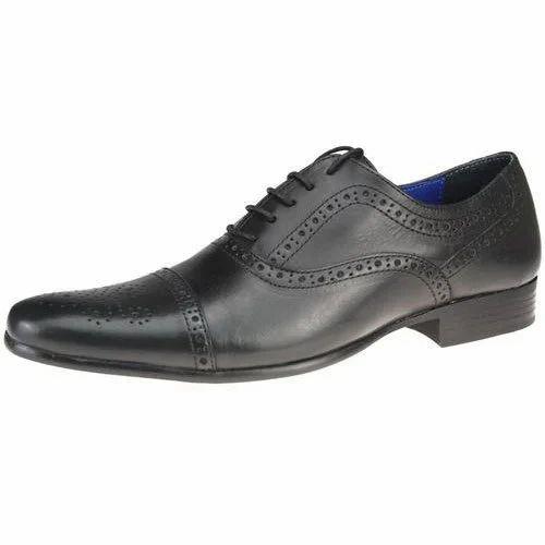3f6253e529af Black Men's Office Shoes, Rs 850 /pair, Shoe Stopy | ID: 15375821233