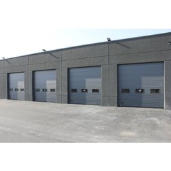 Industrial Horizontal Sectional Door
