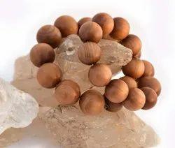 Round Sandalwood Beads