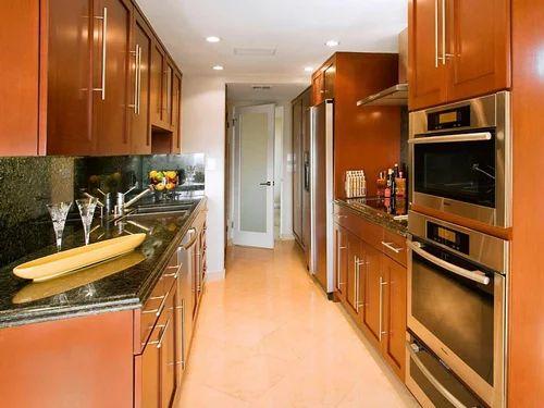 Home Parallel Platform Kitchen At Rs 35000 Piece Wooden Modular Kitchen Id 17815122312