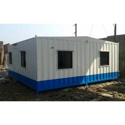 MS Epoxy Painted Portable Cabin