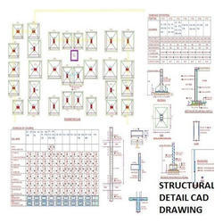 Structural Detail CAD Drawing Service