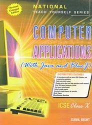 I C S E Computer Application with Java Blue J