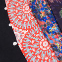 Fancy Printed Knitted Fabric, Use: Garments, Gsm: 150-200