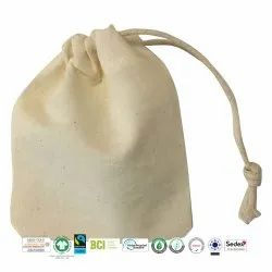 Bio Cotton Draw String Bag