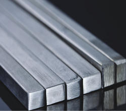Mill Fines Bright Stainless Steel Square Bar, Size: 3 mm To 100 mm, for Industrial