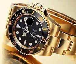 ROLEX Men Gold Stainless Steel Watch Men Mechanical Self-Wind Watch Designer Dress Men Wristwatches
