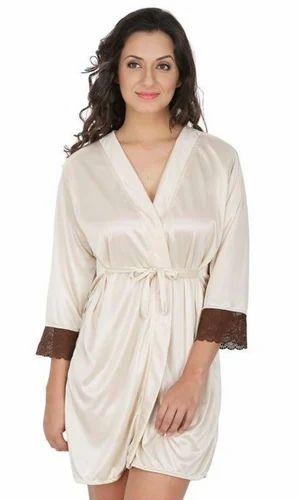 1daa1b808a9 Western Skin Women Classy Satin Nightwear Gown