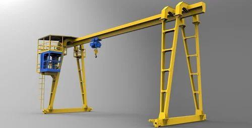 Single Girder Gantry Crane, Capacity: 5-10 Ton | ID: 16618364591