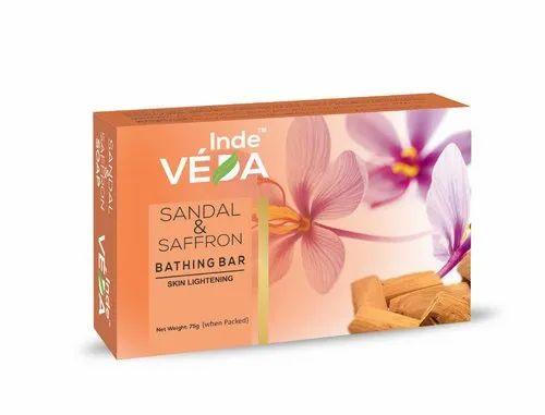 Sandal & Saffron Bathing Bar for Personal