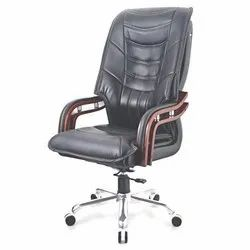 Black Leather CEO Chair