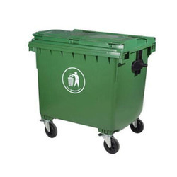 Plastic Dry Waste Bin
